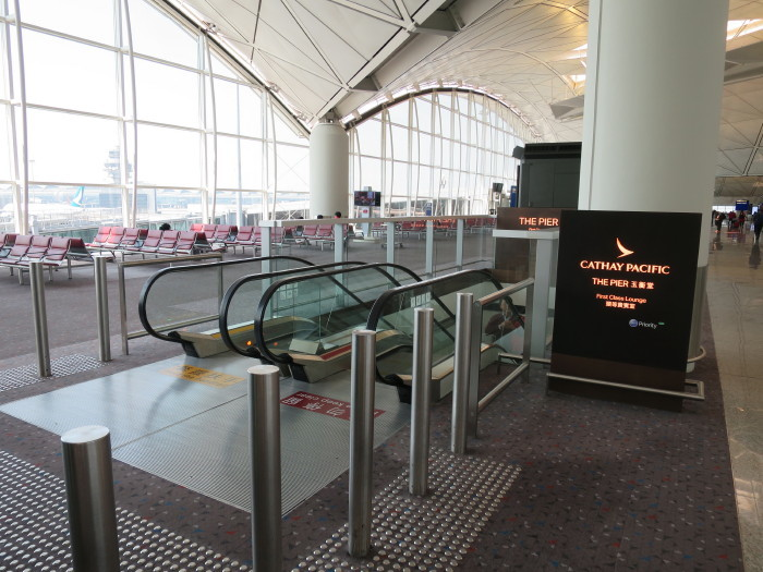 香港空港 キャセイパシフィックラウンジ