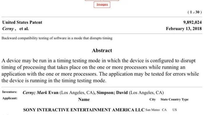 PS5はPS4と完全互換に関する特許を申請