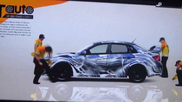 GT5スバル インプレッサ4door洗車