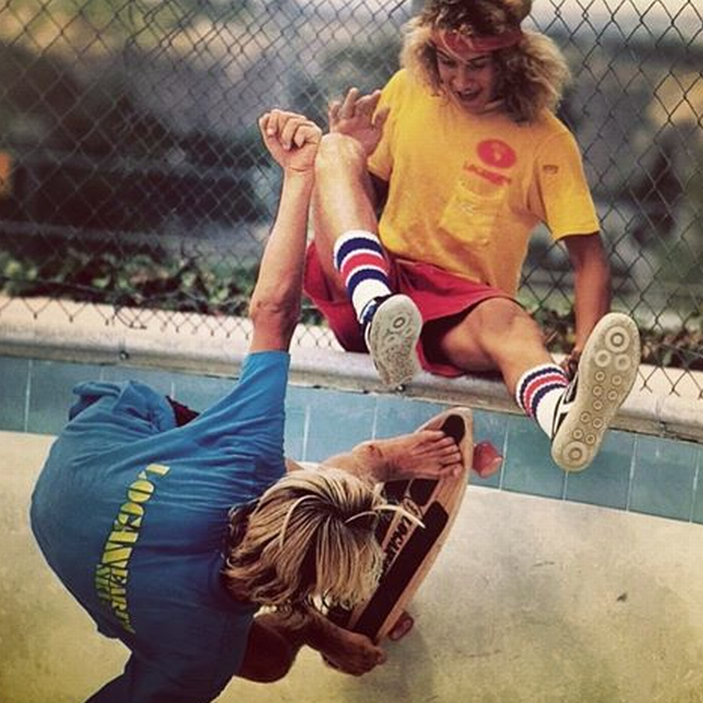 Tony Alva and Jay Adams 245340c911adbed607d6e372593267de