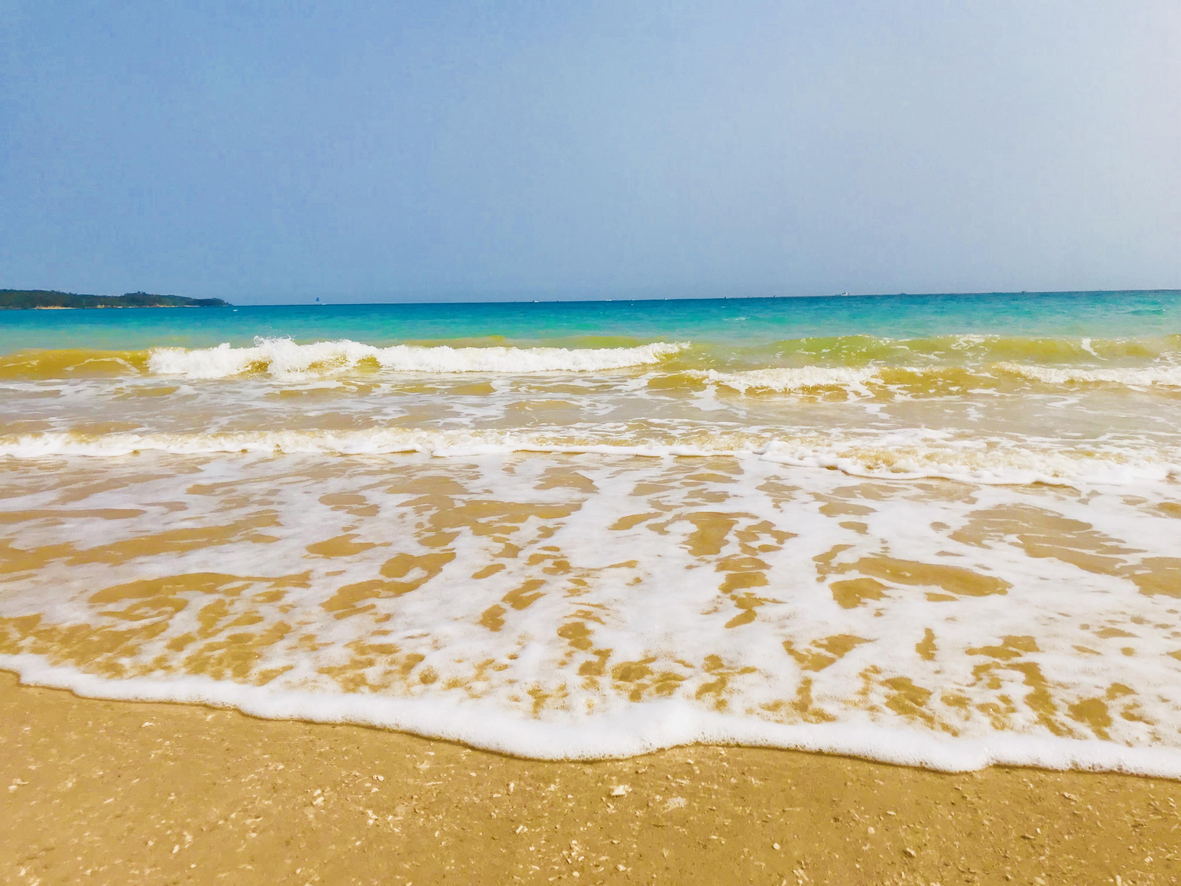 201803沖縄辺野古の先のビーチ