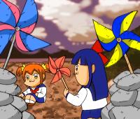 タイトルはSNoW「逆さまの蝶」(TVアニメ「地獄少女」OP1)より拝借。