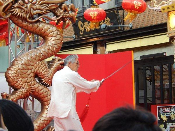 2018年の春節祭 南京町生誕150年