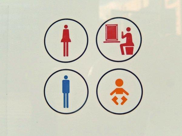 トイレのピクトさんたち