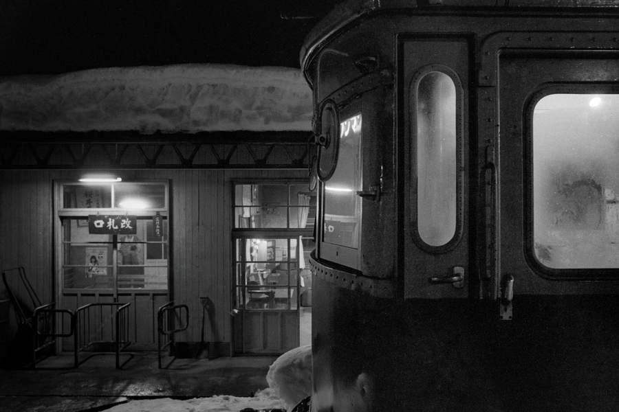 蒲原鉄道 七谷の夜3 1985年2月 16bitAdobeRGB原版 take1b