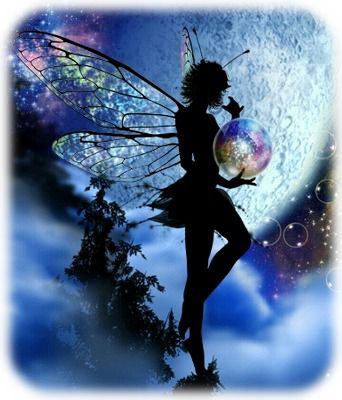 満月と妖精A