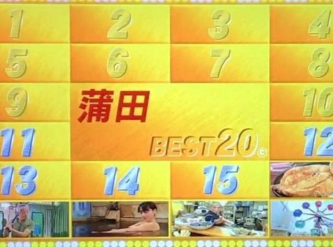 蒲田ベスト20