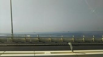 アクアライン海上