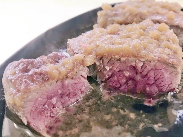 厚切りステーキ (2)