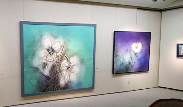 植田一穂日本画展