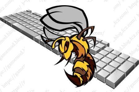 キーボードを連打できるフリーソフト「スズメ蜂」