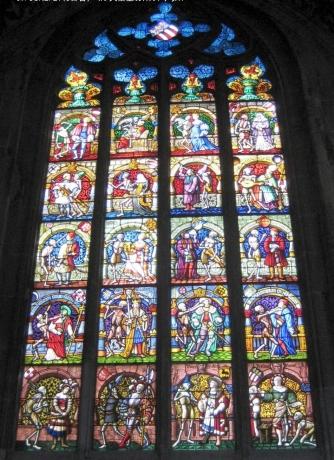 ベルン大聖堂ステンドグラス