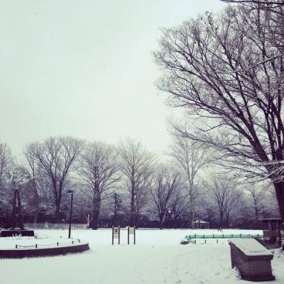 1雪の中2