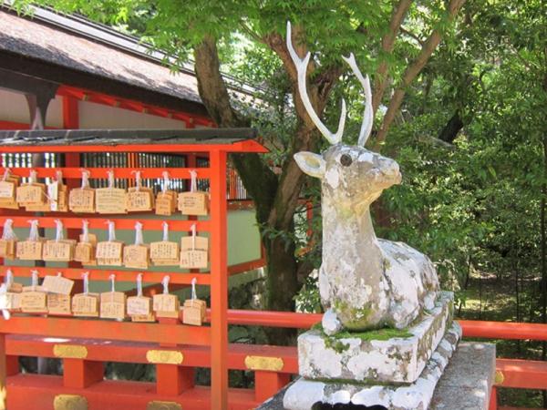 大原野神社狛鹿