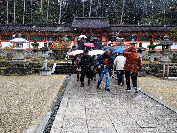 大原野神社拝殿