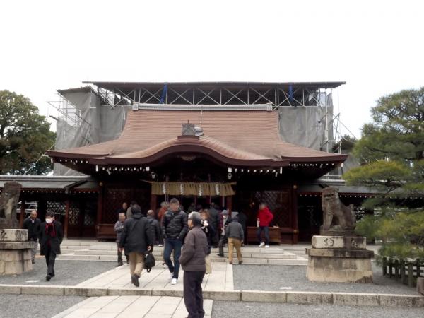 城南宮拝殿