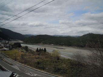 中辺路終盤で熊野川180318