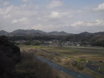 角田橋から180324