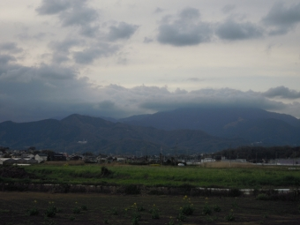 今日の大山付近180324