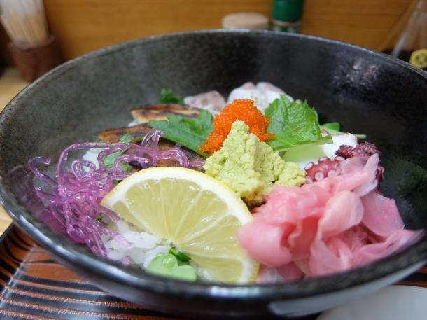 明石海鮮丼