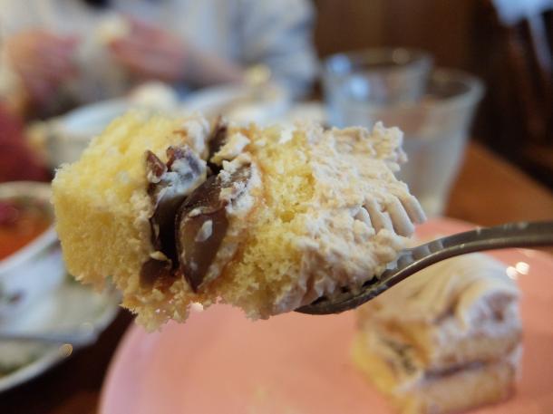 クリのケーキ