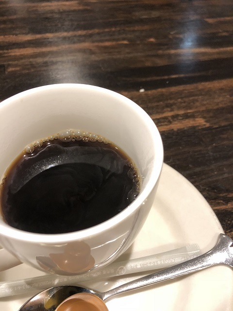 浪漫亭 コーヒー