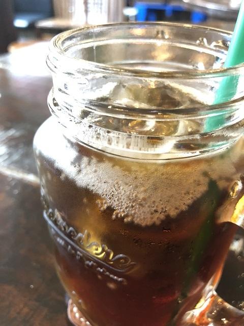 カフェ スリーピース 黒糖黒酢ソーダ