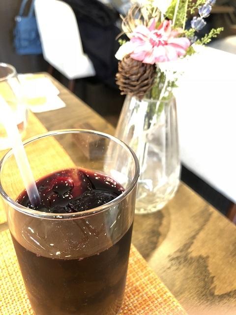 イタリアンフレンチ レコルト 庄内朝日産山ぶどうジュース