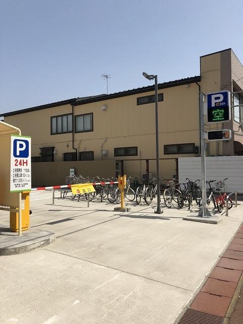 荘内銀行本店 北側駐車場1