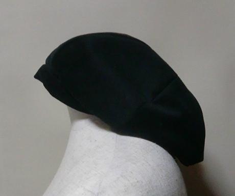 帽子を作りました ベレー帽