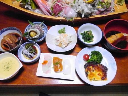 磯崎荘夕食
