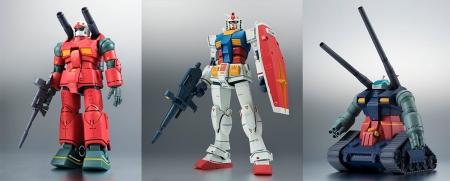 ROBOT魂 RX-75-4 ガンタンク&コア・ファイター射出パーツ ver. A.N.I.M.E. リアルマーキング