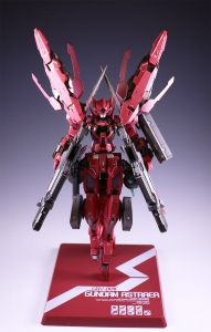 METAL BUILD ガンダムアストレア TYPE-F (GN HEAVY WEAPON SET) (3)