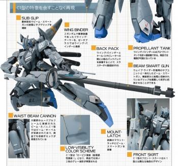 METAL ROBOT魂(Ka signature) ゼータプラス C1 商品説明 (3)