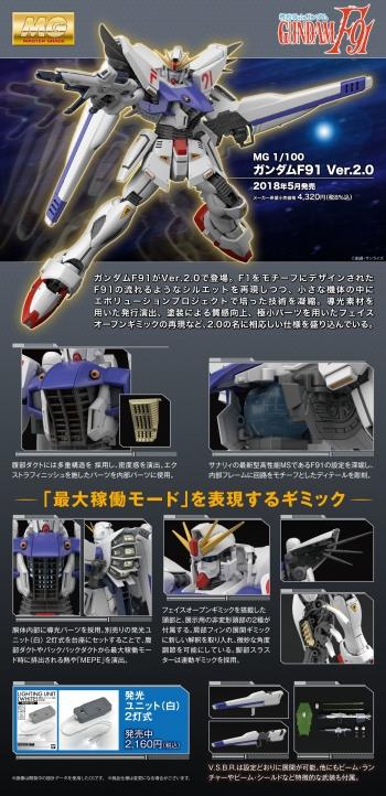MG ガンダムF91 Ver.2.0の商品説明画像