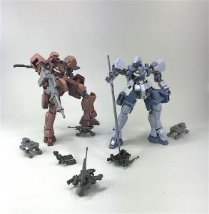 HG グレイズ(地上戦仕様) ツインセット (2)