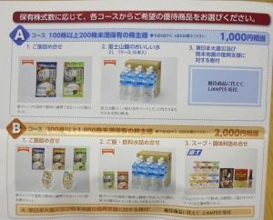 JT株主優待カタログ
