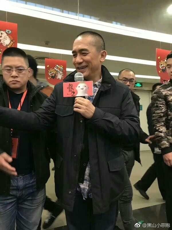 トニーさん@「捉妖記2」南京宣伝2