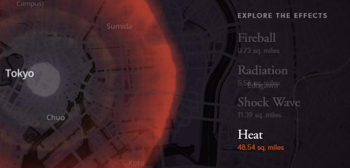 核爆弾 被害シミュレーション4