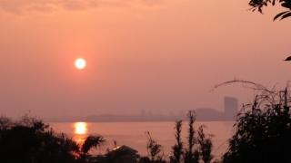 180226001 能古島で見た日の出