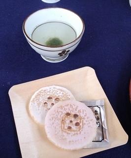 11お茶&お菓子