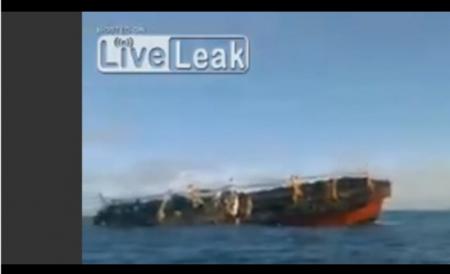 【動画】アルゼンチン沿岸警備隊が中国漁船を撃沈 やってみてー! [嫌韓ちゃんねる ~日本の未来のために~ 記事No19707