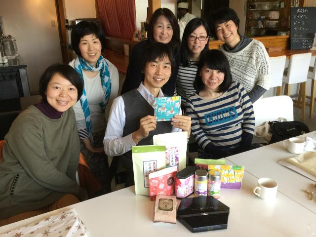 20180310_先生へプレゼント、記念撮影