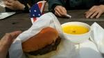 ビンゴバーガーとパンプキンスープ