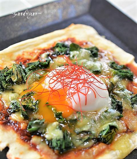 お揚げのピザ88