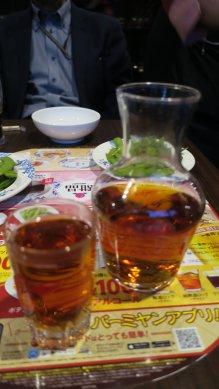 日本酒替りに紹興酒