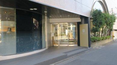 ホテル側入り口