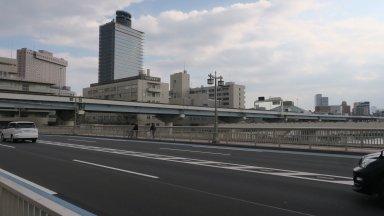 同愛病院辺り→椎木屋敷跡