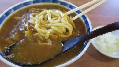 カレーと麺
