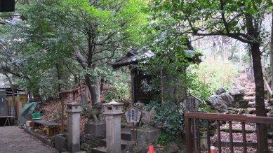 浅間神社と富士塚